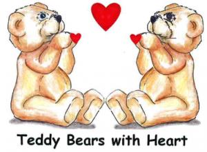 Teddy Bears with Heart
